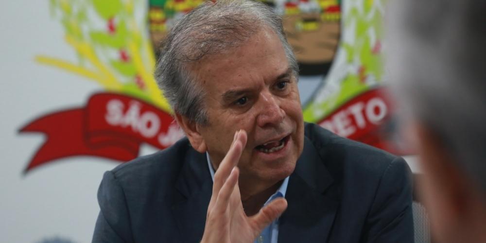 Edinho Araújo, prefeito de Rio Preto (Johnny Torres 5/12/2019)