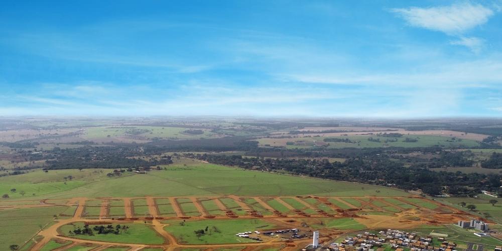 Vista aérea do SetValley 2 (Fotos: Divulgação / Setpar)