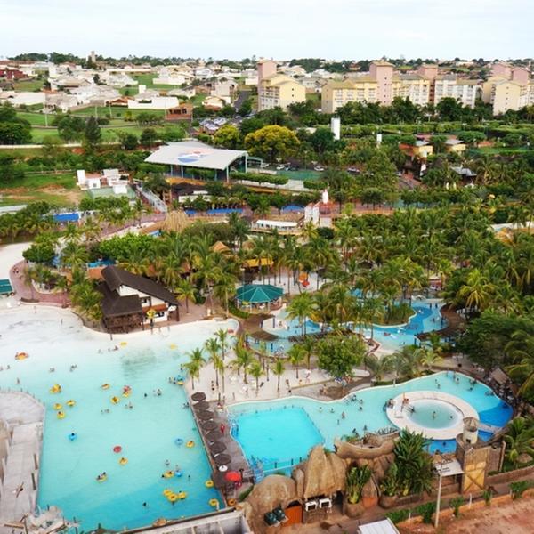 Parques aquáticos de Olímpia estão entre os dez mais visitados da América Latina