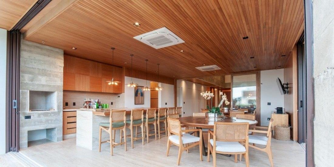 Projeto de área gourmet da arquiteta Marianna Vetorazzo Haddad Liso (Fotos: Divulgação)