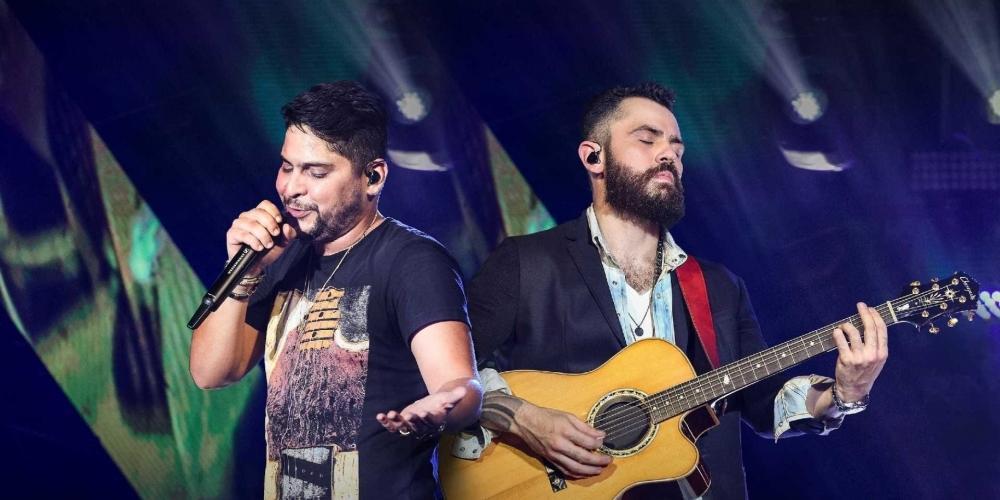 Jorge e Mateus se apresentam em Rio Preto no mês de dezembro (Divulgação)