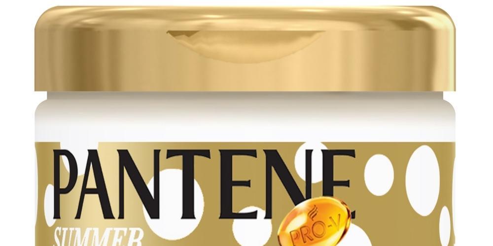 Máscara Intensiva Edição de Verão, da Pantene, tem fórmula condicionante concentrada para nutrir e hidratar os fios. R$ 19,90rpantene.com.br (Divulgação)