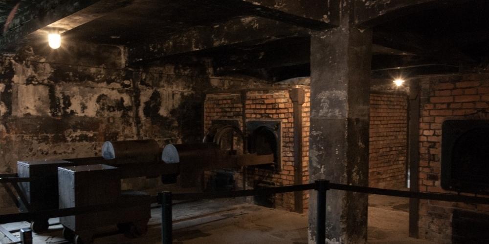 Visão dos fornos crematórios (João Paulo Vani/Divulgação)