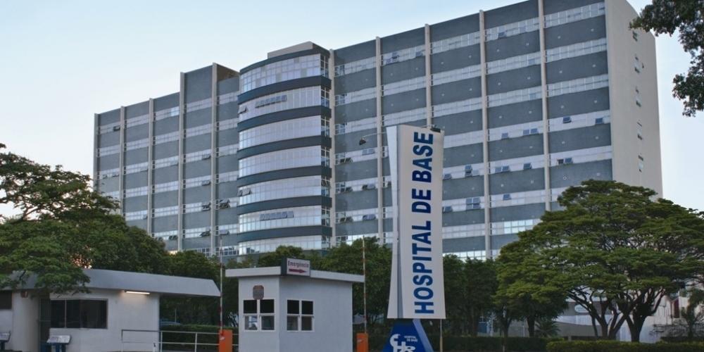 Entrada do Hospital de Base de Rio Preto (Divulgação)