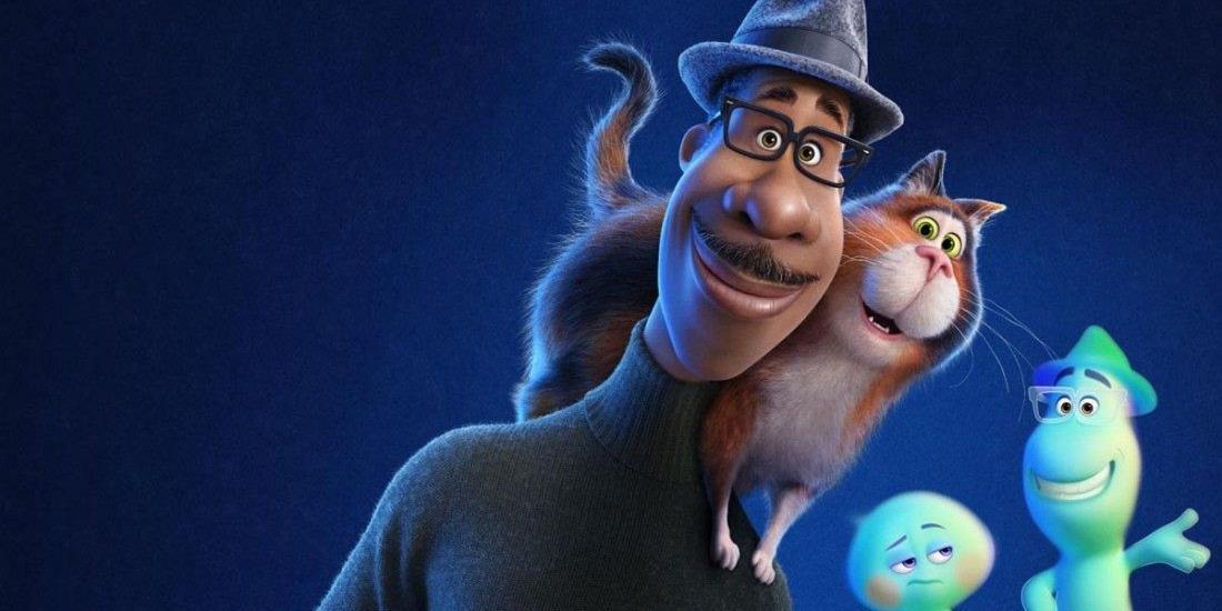 Personagens  da animação  'Soul', da Disney (Divulgação)