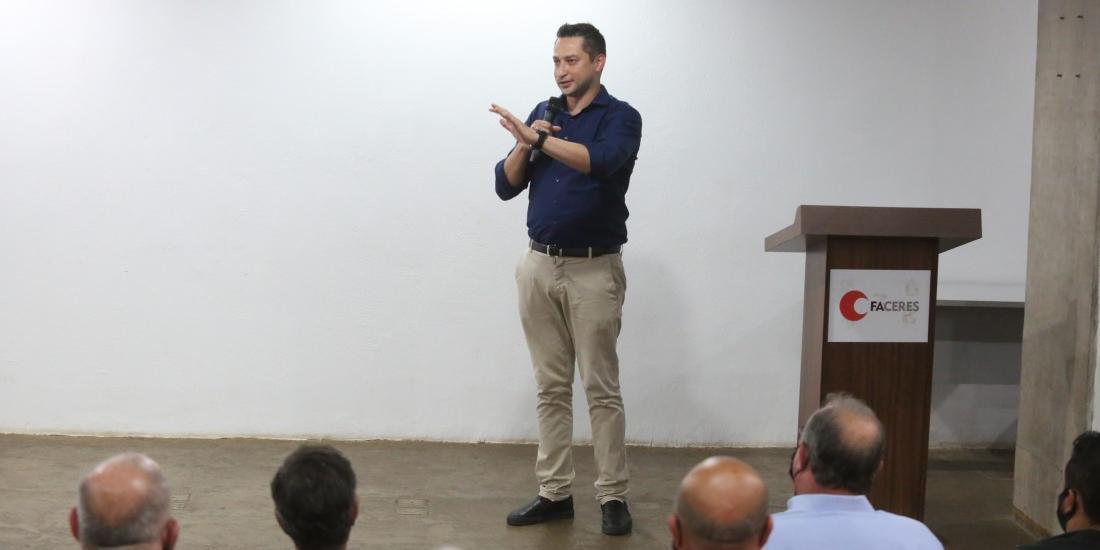 Tucanos de Rio Preto declararam apoio à candidatura à reeleição de Marco Vinholi na presidência estadual do partido (Guilherme Baffi 9/1/2021)
