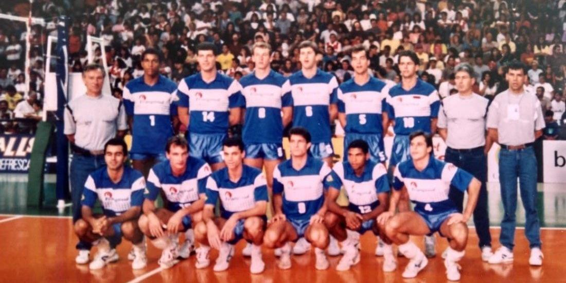 Nascido no Mato Grosso do Sul, Adeildo Pinto da Silva é um grande músico e foi uma estrela do vôlei - em Rio Preto e no mundo (acervo particular)