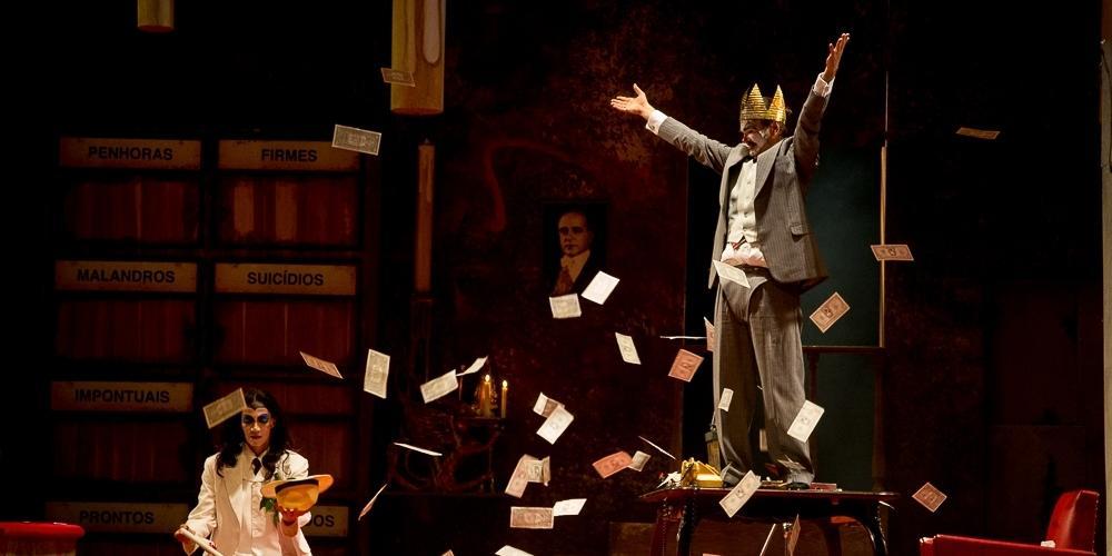 Espetáculo O Rei da Vela, do Teatro Oficina Uzyna Uzona (Fotos: Jennifer Glass/Divulgação)