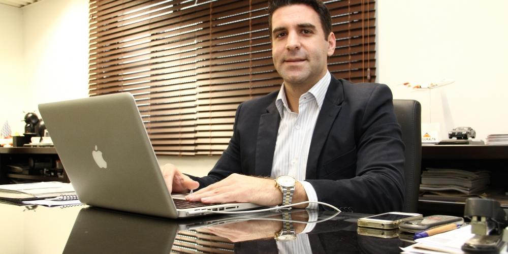 """Reinaldo Zanon Filho, CEO da Seguralta, a melhor colocada de Rio Preto no ranking: """"Construímos uma marca sólida"""" (Johnny Torres/Arquivo )"""
