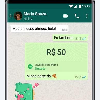 WhatsApp Pay já está disponível