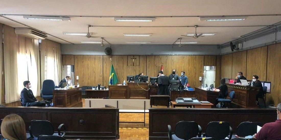 Julgamento começou na manhã de quinta e terminou na madrugada de sexta (Guilherme Baffi 15/10/2020)
