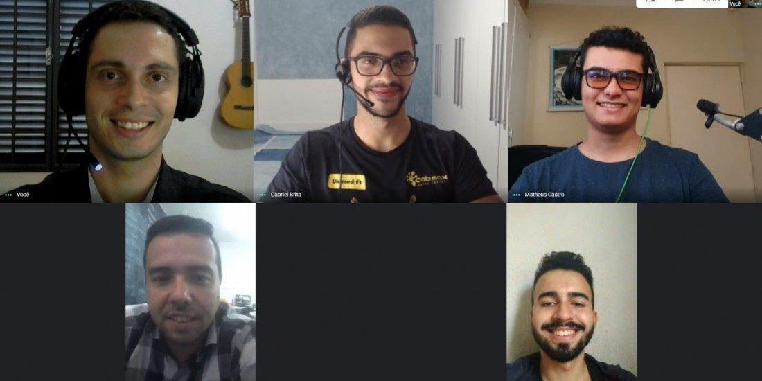 Integrantes da equipe U-Space, uma das indicadas que segue para a etapa mundial do Nasa Space Apps Challenge 2020 (Arquivo pessoal)