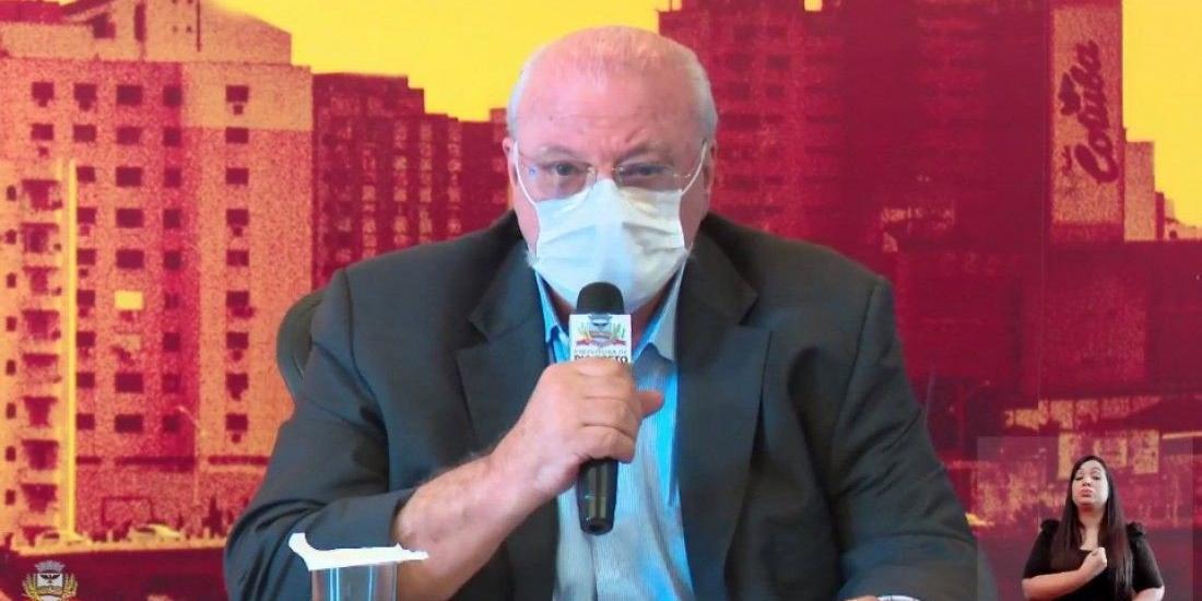 Secretário de Saúde, Aldenis Borim  (Reprodução)