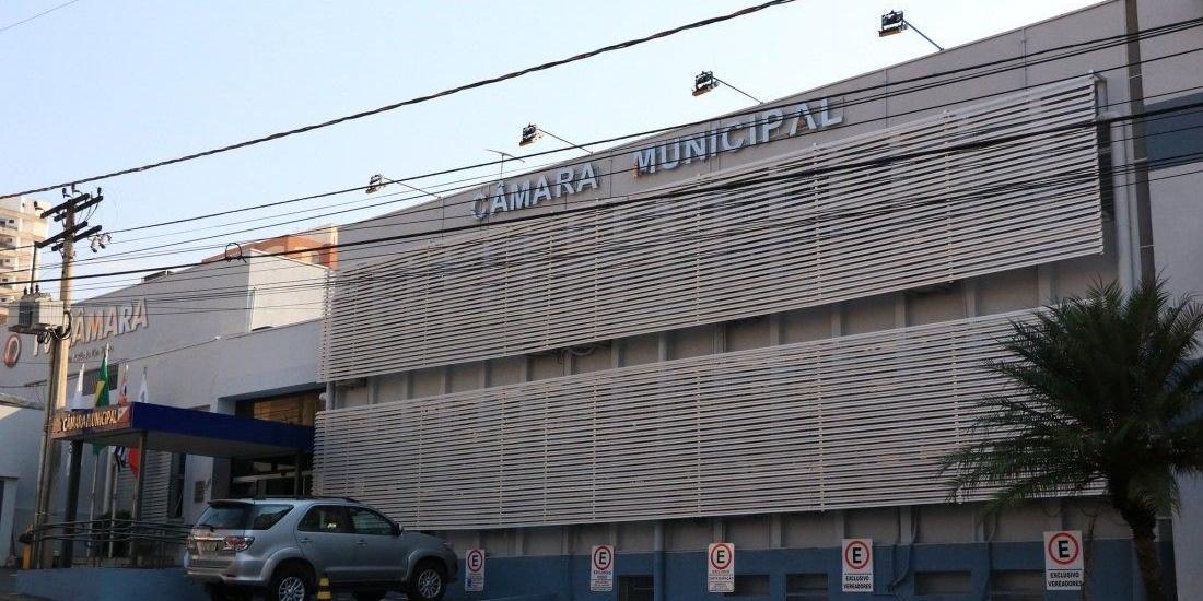 Fachada da Câmara Municipal de São José do Rio Preto (Divulgação/Câmara)
