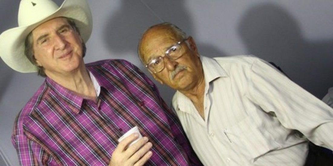 Geraldinho com o sertanejo Sérgio Reis (Divulgação)