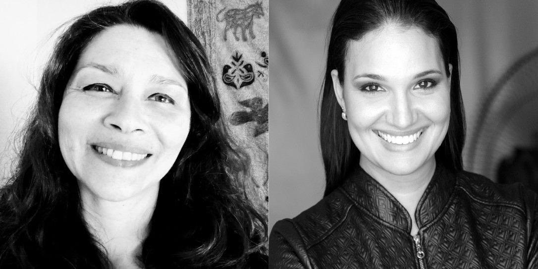 Simone Moerdaui e Vanessa Palmieri, da Cia. Cênica, estão à frente do projeto 'Roseanas', que investiga a mulher na obra de Guimarães Rosa (Divulgação/Adriano Chiacchio)
