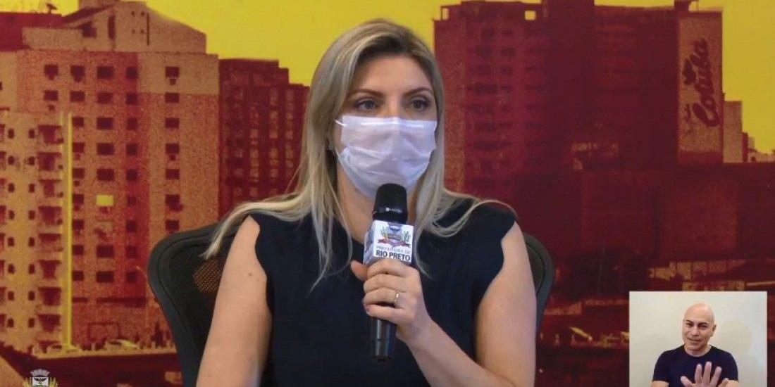 Andreia Negri, gerente da Vigilância Epidemiológica (Reprodução )