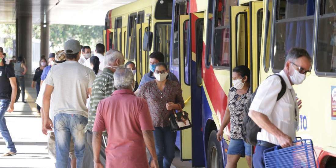 Terminal Urbano de Rio Preto (Johnny Torres 27/4/2020)