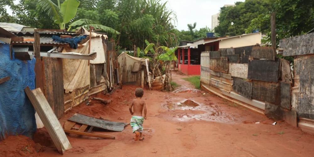 Favela da Vila Itália, em Rio Preto (Guilherme Baffi 23/1/2020)