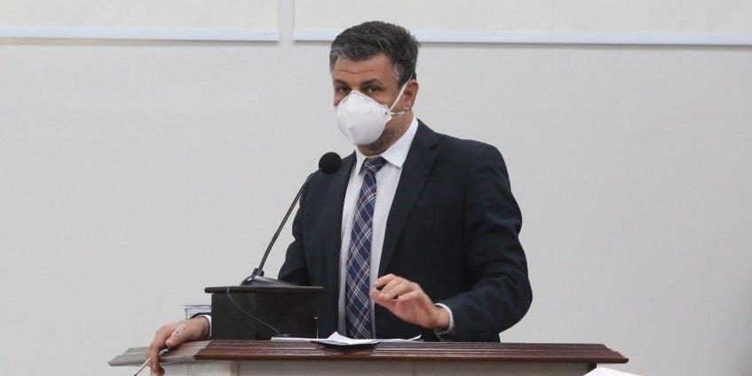 Vereador João Paulo Rillo, do Psol (Guilherme Baffi 25/05/2021)