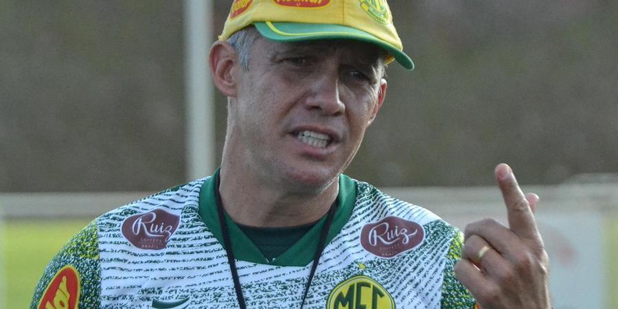 Técnico Eduardo Baptista terá semana cheia para trabalhar com elenco do Leão após derrota para o Paraná (Divulgação/ Mirassol FC)