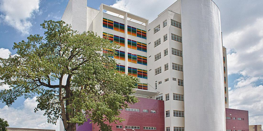 Hospital da Criança e Maternidade de Rio Preto, onde a menina passou por exames (Divulgação)
