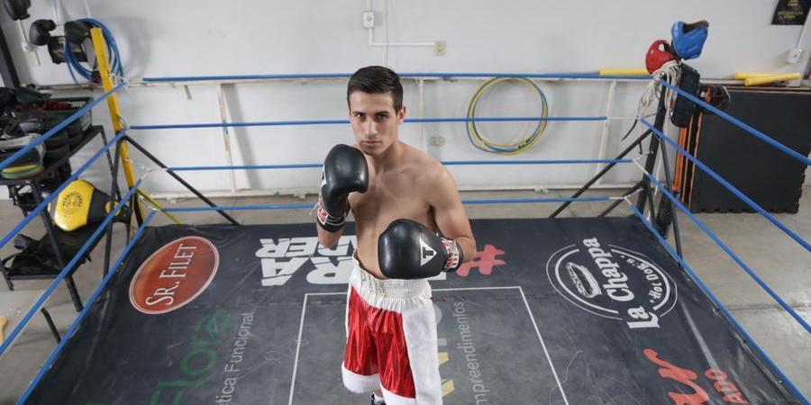 Eduardo se apronta para ir a São Paulo onde luta no próximo sábado (Johnny Torres – 20/7/2021)