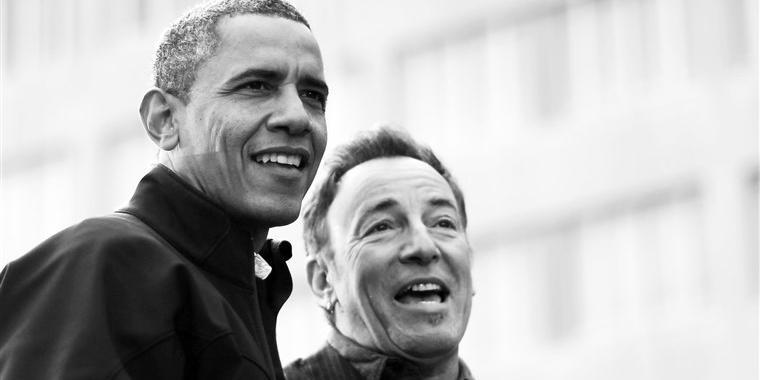Podcast de Barack Obama e Bruce Springsteen ganha edição especial em livro (Reprodução)