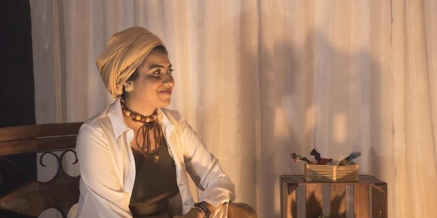 Thainá da Costa Silva é a criadora do projeto Mandisa, dedicado à escuta de narrativas de mulheres negras (Maju Malavaes/Divulgação)