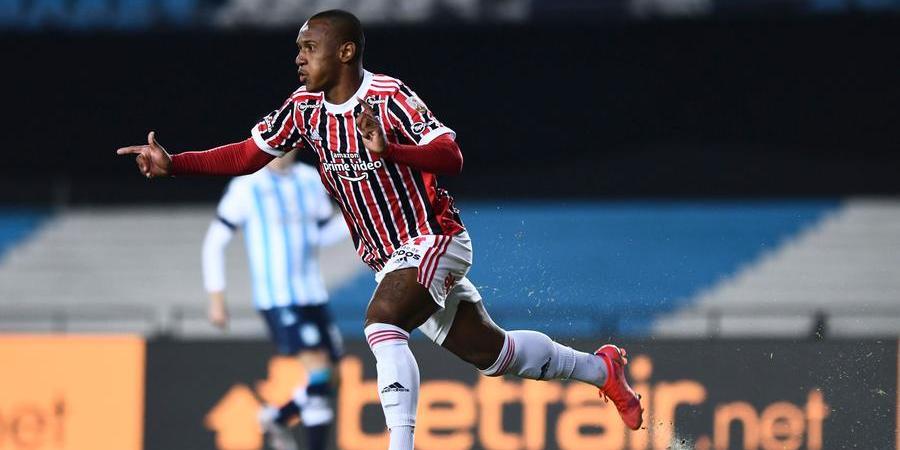 Marquinhos se destacou no jogo contra o Racing, na Argentina (Érico Leonan/ São Paulo FC)