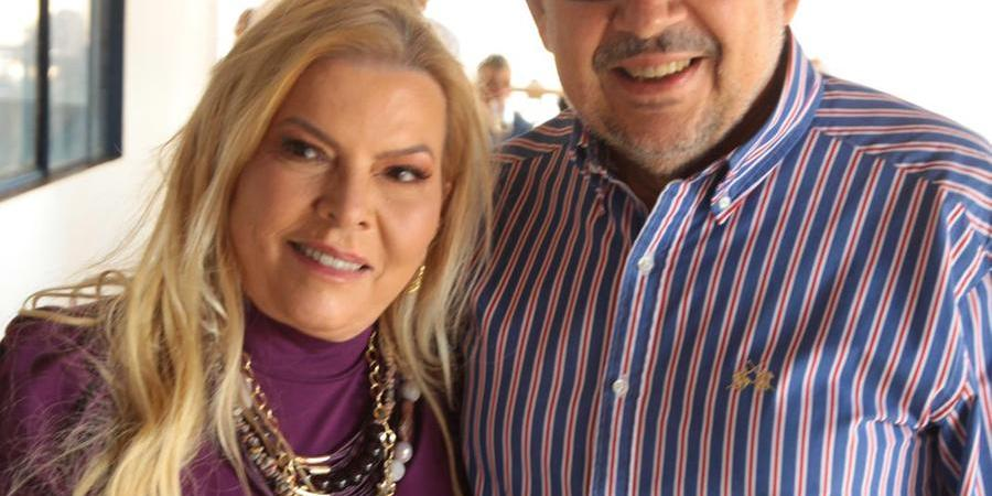 Luciene e Pedro Rodrigues na Casa da Fazenda (Arnaldo Mussi)