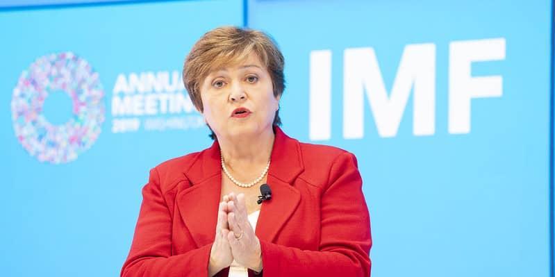 Kristalina Georgieva, Diretora-gerente do Fundo Monetário Internacional (FMI) (Stephen Jaffe/FMI)