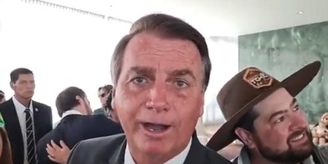 Presidente Jair Bolsonaro (sem partido) (Reprodução)