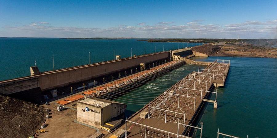 Usina hidrelétrica de Ilha Solteira é a maior de São Paulo (Divulgação/ CTG Brasil)