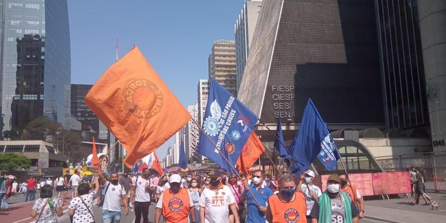 Manifestação em São Paulo neste domingo, 12, contra o presidente (Públicas/Jaélcio Santana)