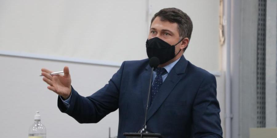 Vereador Robson Ricci, presidente da CPI do Transporte (Divulgação/Câmara Rio Preto)