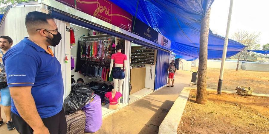 Comerciantes cobram melhorias na estrutura do local (Marco Antonio dos Santos 14/9/2021)