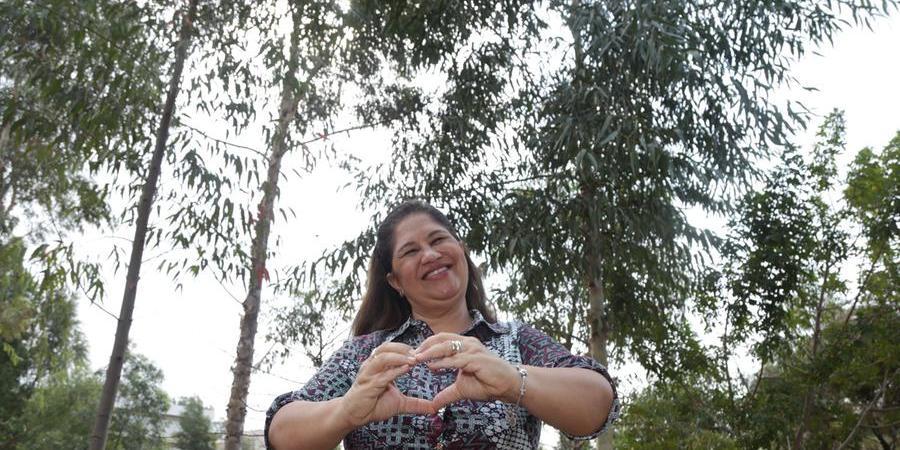"""Leyla de Castro, de 55 anos, sofreu infarto no início do ano: """"Todo mundo tem que ficar de olho, prestar atenção. Eu levava uma vida saudável e infartei"""", aconselha (Johnny Torres 16/9/2021)"""