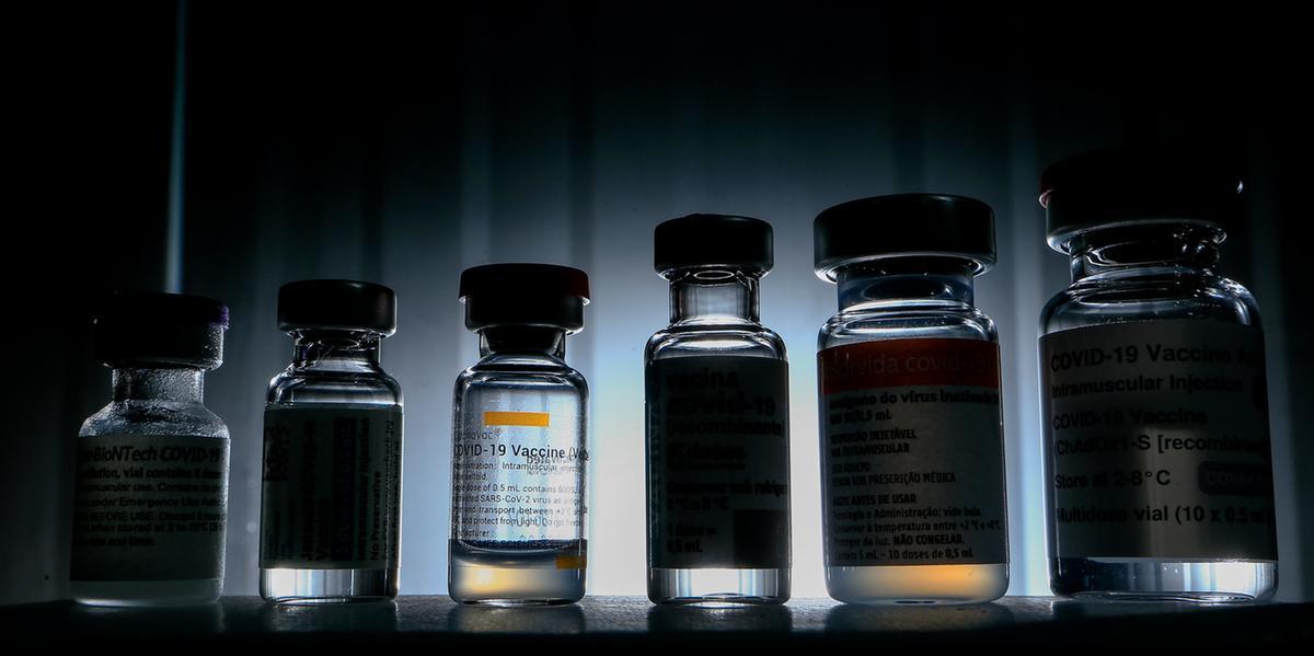 Vacinas contra a Covid-19 disponíveis no Brasil (Myke Sena/Ministério da Saúde)