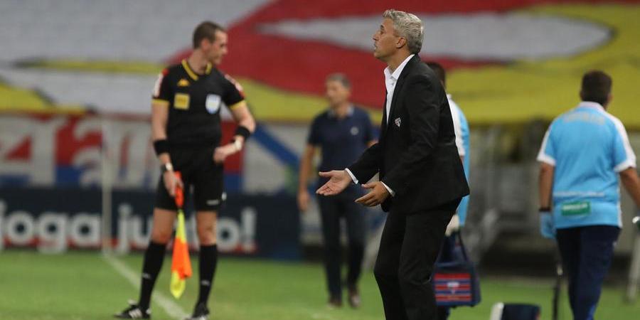 Hernán Crespo fará mudanças no time titular do São Paulo que jogará contra o Atlético-GO (Rubens Chiri/ São Paulo FC)