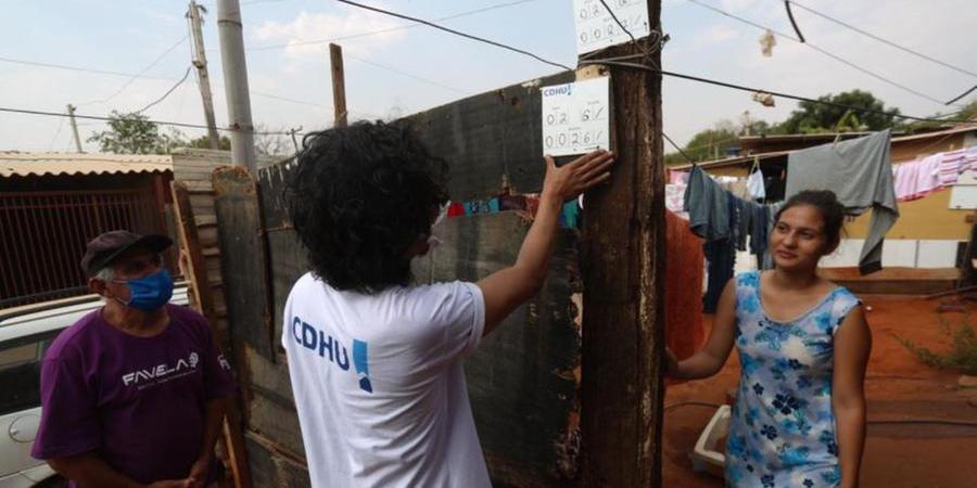 Equipes da CDHU iniciam cadastramento de famílias da favela (Guilherme Baffi 21/9/2021)
