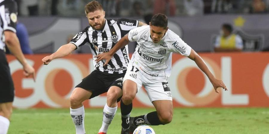 Santos e Galo fizeram partida disputada no Mineirão (Ivan Storti/ Santos FC)
