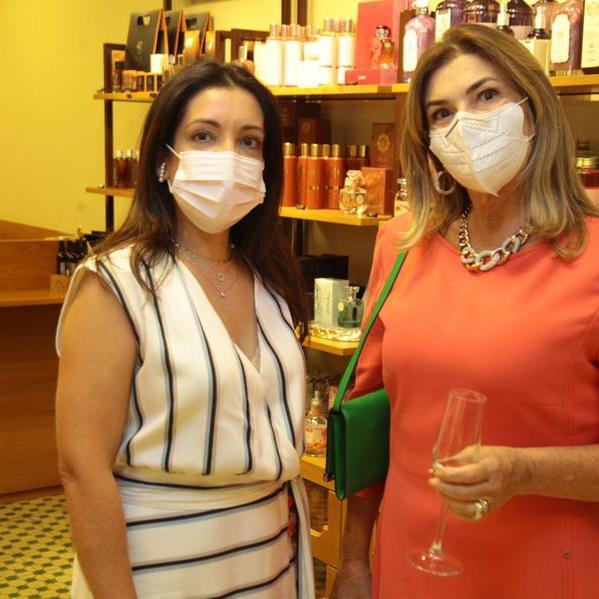 Ilna de Jorge e Sara Alves estão na Coluna Social Cida Caran
