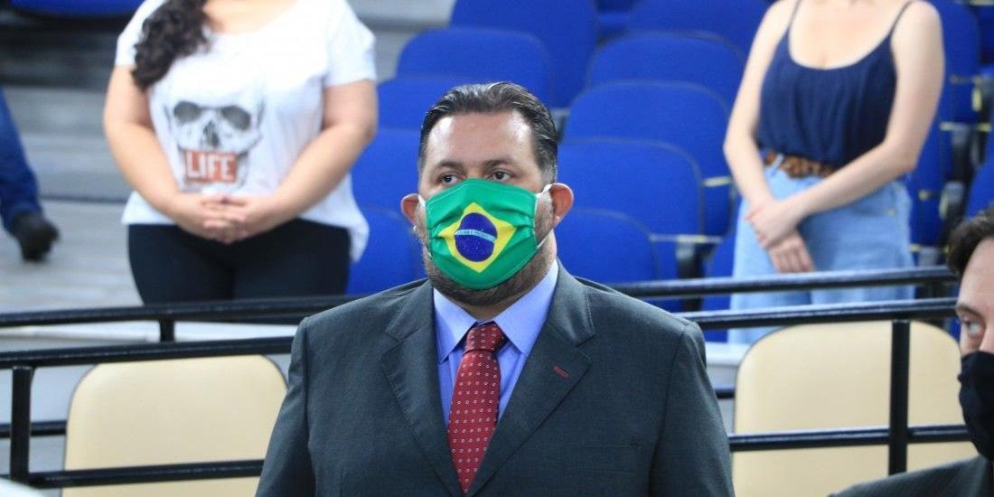 Vereador de Rio Preto Anderson Branco (Divulgação/Câmara)