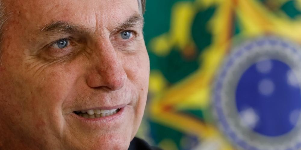 Presidente da República Jair Bolsonaro (Isac Nóbrega/PR)